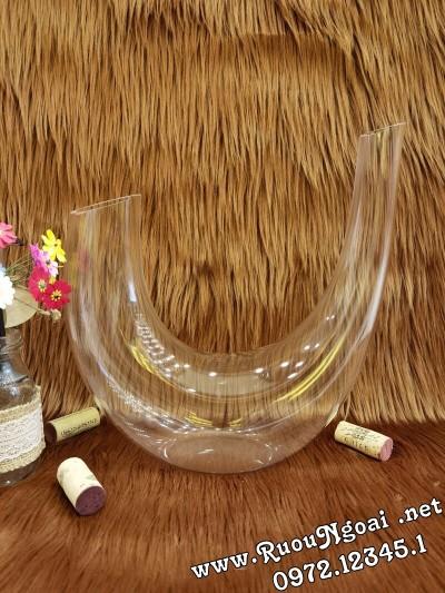 Bình Đựng Rượu Vang - Decanter Dáng Đẹp M21