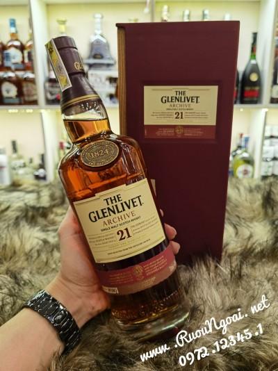 Rượu Glenlivet 21YO