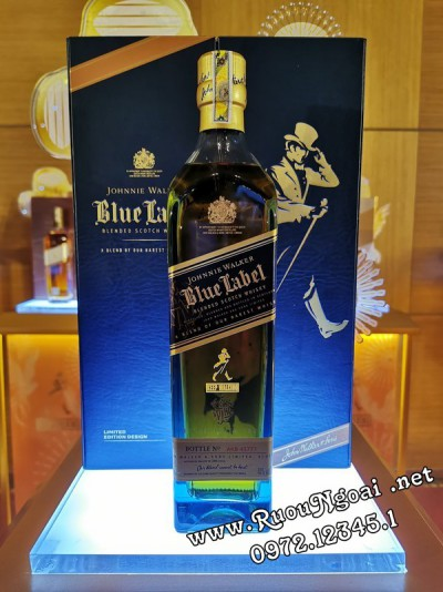 Rượu Johnnie Walker Blue Label - Hộp Quà 2020