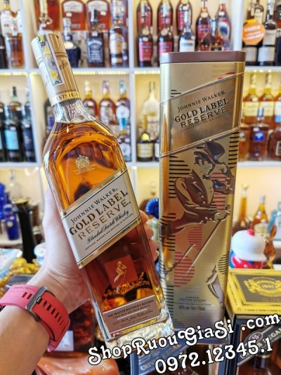 Rượu Johnnie Walker Gold Label - Hộp Quà 2020
