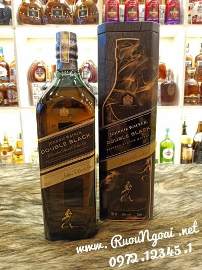 Rượu Johnnie Walker Double Black 1L Tết 2021
