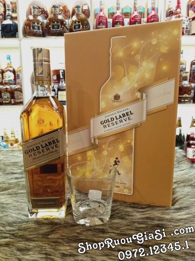 Rượu Johnnie Walker Gold Hộp Quà Tết 2021