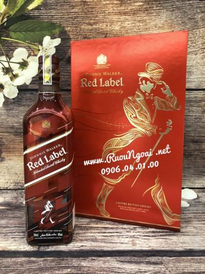 Rượu Johnnie Walker Red Label - Hộp Quà 2019