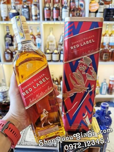 Rượu Johnnie Walker Red Label - Hộp Quà 2020