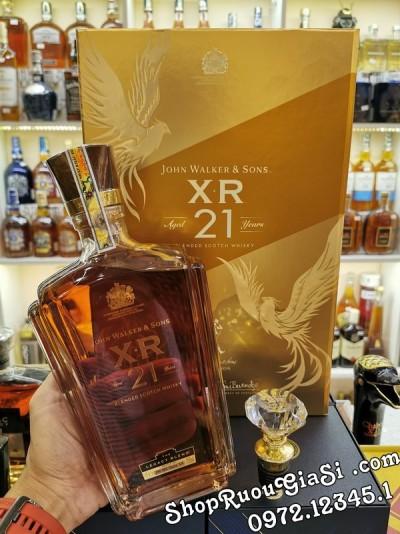 Rượu Johnnie Walker XR 21 - Hộp Quà 2020