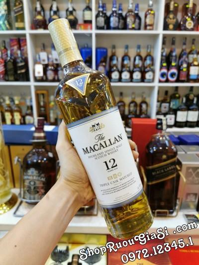 Rượu Macallan 12YO Triple Cask