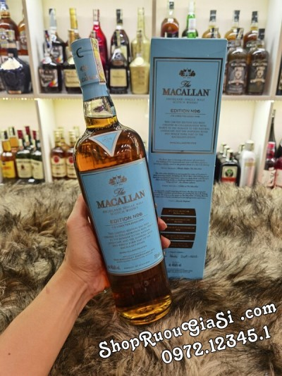 Rượu Macallan No.6