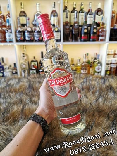 Rượu Vodka Stalinskaya