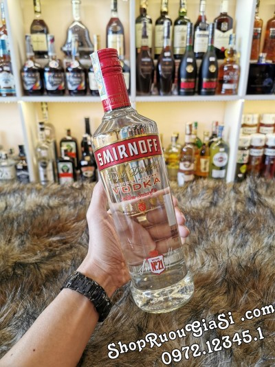 Rượu Vodka Sminornoff Red