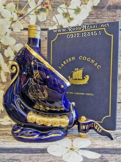 Rượu Viking Laser Cognac Blue