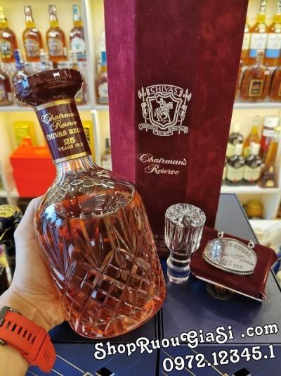 Rượu Chivas Regal 25 Baccarat Chairman's Reserve