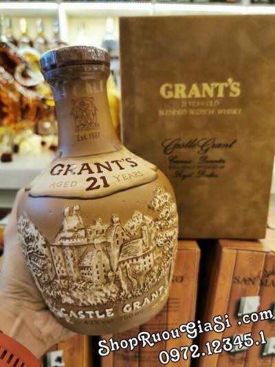 Rượu Grant's Castle Grant 21 Năm