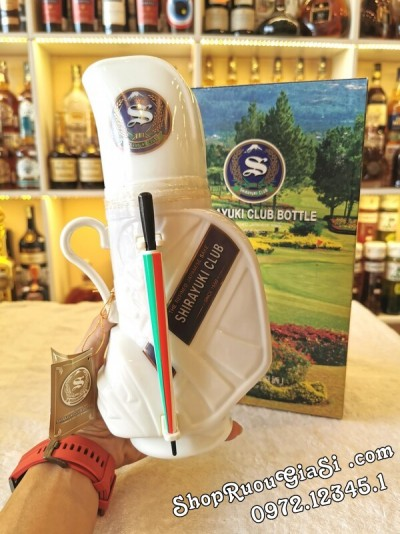 Rượu Sake Shirayuki Club