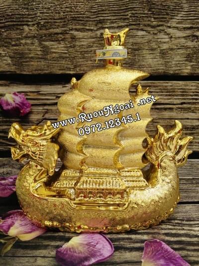Rượu Phong Thủy Thuyền Rồng Vàng