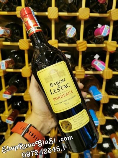 Rượu vang BARON De LESTAC BORDEAUX