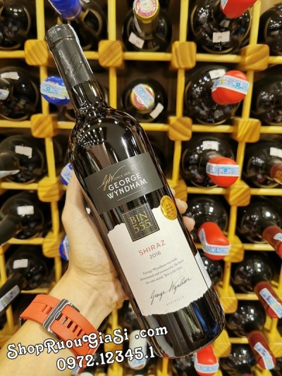 Rượu Vang Wyndham Bin 555 Shiraz