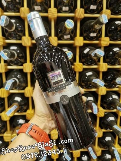 Rượu Vang Brecciarolo Velenosi Silver