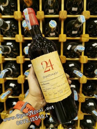 Rượu vang Ocho Tierras 24 Gran Reserva