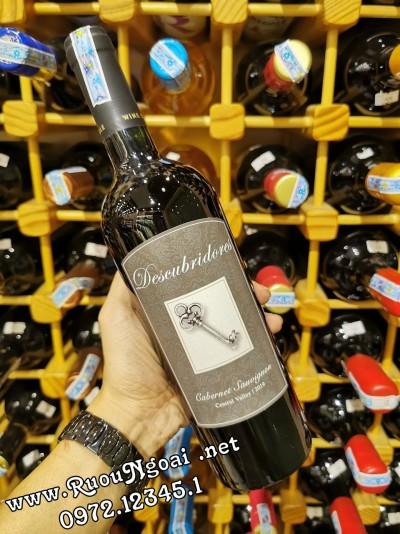Rượu Vang Descubridores Cabernet Sauvignon