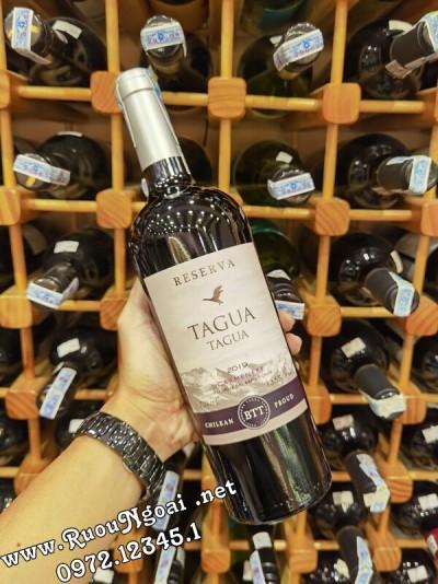 Rượu vang Chile Tagua Reserva Carmenre