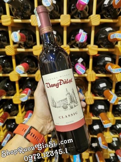 Rượu Vang Đà Lạt Classic Red Wine