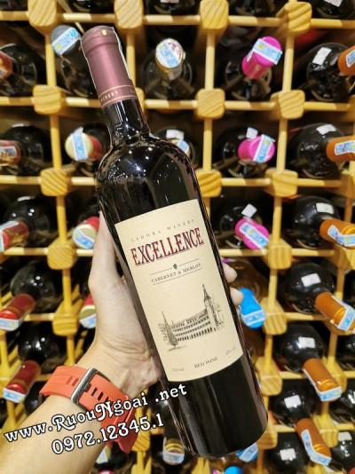 Rượu Vang Đà Lạt Excellence Cabernet Sauvignon & Merlot
