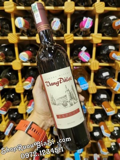 Rượu Vang Đà Lạt Export Red Wine