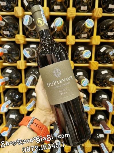 Rượu Vang Nam Phi DuPlevaux Shiraz
