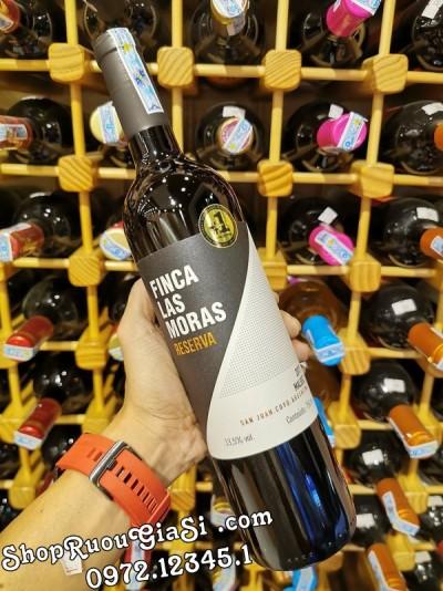 Rượu Vang Finca Las Moras Reserva