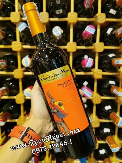 Rượu Vang Guardia Dei Mori Primitivo Saleno