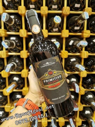 Rượu Vang Ý Campo Dei Fiori 1988 Primitivo
