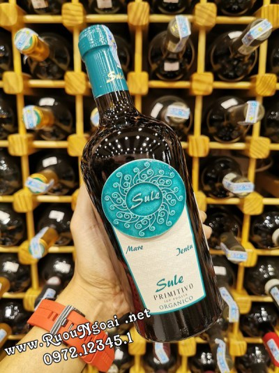 Rượu Vang Sule Pirimitivo Organic