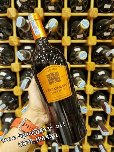 Rượu Vang Torri D'oro Negroamaro Salento