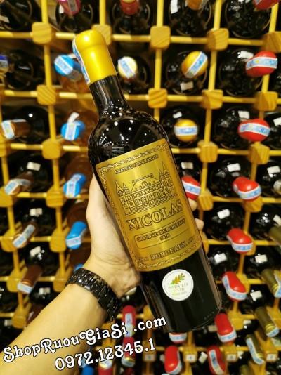 Rượu vang Nicolas Bordeaux