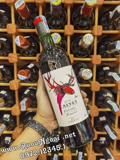 Rượu Vang Calvet Fitou Le Grand Roi