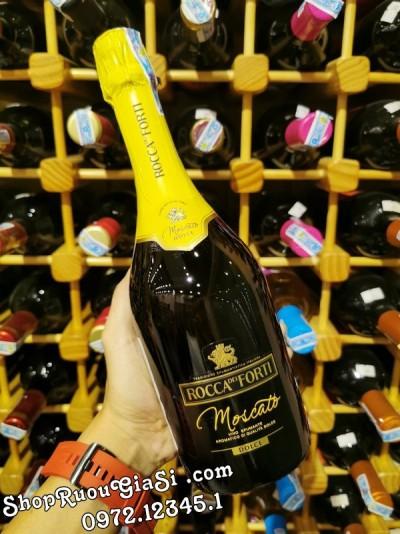 Rượu Vang Nổ Rocca Dei Forti Moscato
