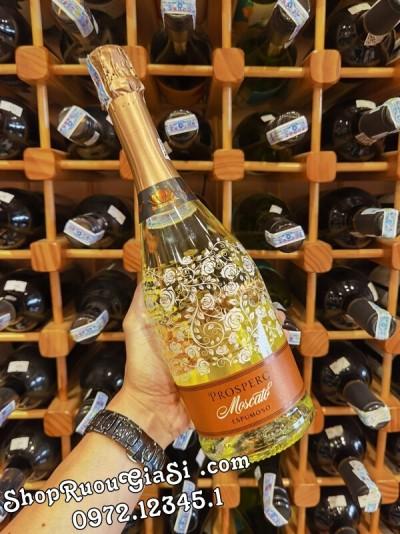 Rượu Vang Nổ Prosperc Moscato