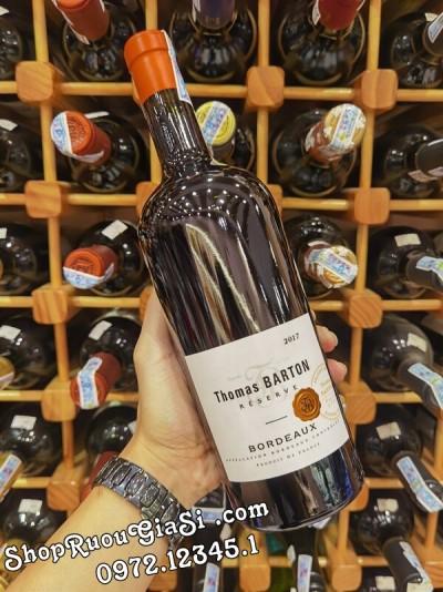 Rượu Vang Thomas Barton Reserve Bordeaux Rouge