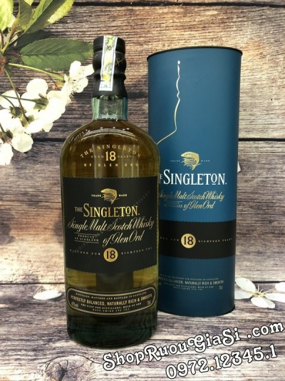 Rượu Whisky Singleton 18YO
