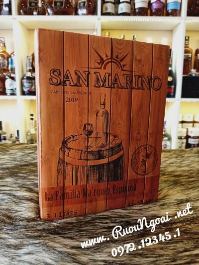 Rượu Vang Hộp San Marino 3L