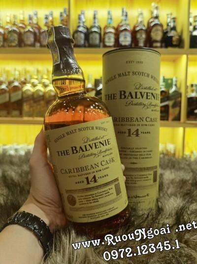 Rượu Balvenia 14 Caribbean Cask