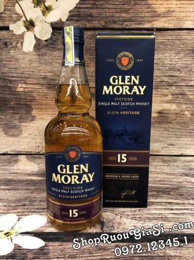 Rượu Glen Moray 15YO