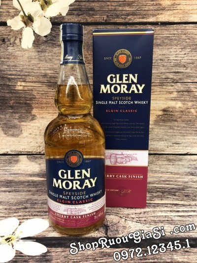 Rượu Glen Moray Elgin Classic Sherry Cask Finish