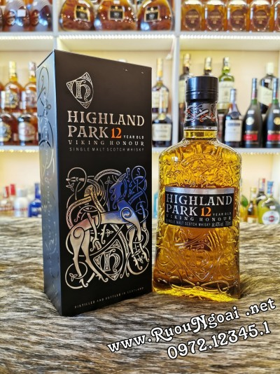 Rượu Whisky Highland Park 12YO