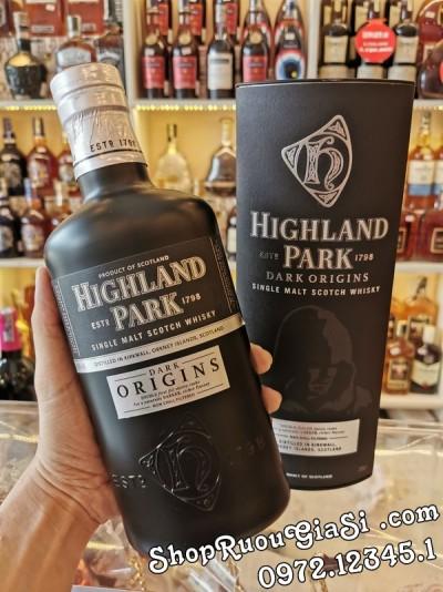 Rượu Whisky Highland Park Dark Origins