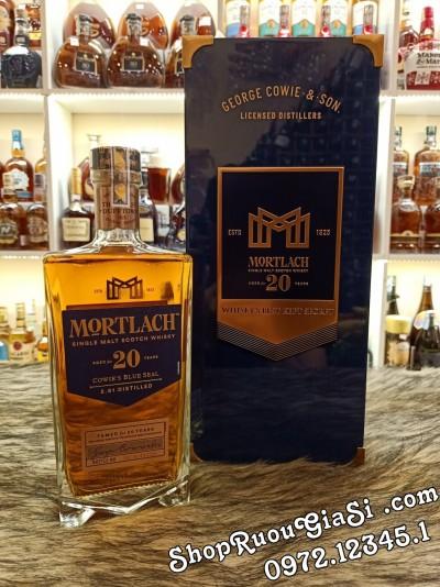 Rượu Mortlach 20 Năm Hộp Quà Tết 2021