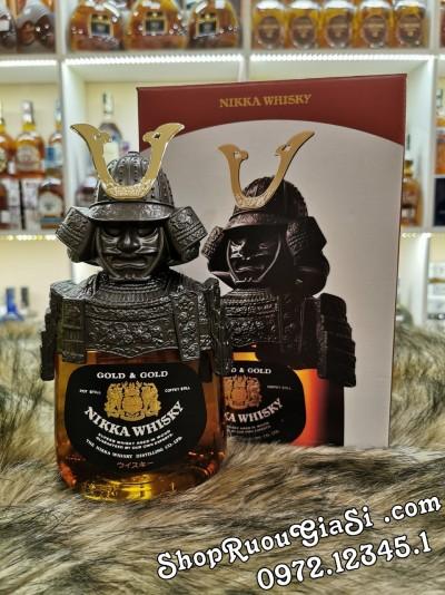 Rượu Whisky Nikka Samurai